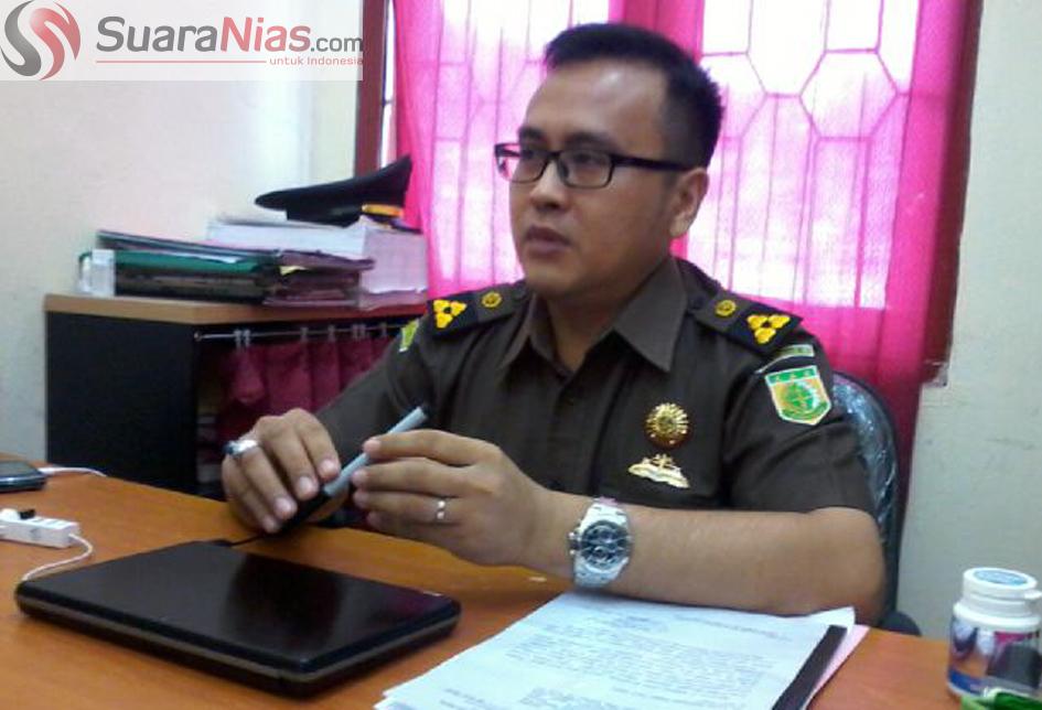 Kasipidsus Kejari Telukdalam Ardiansyah, SH, MH, MH | Foto: Edi Zebua