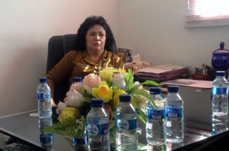 Kepala Dinas Pendidikan Nias Selatan Magdalena Bago/Foto: IST