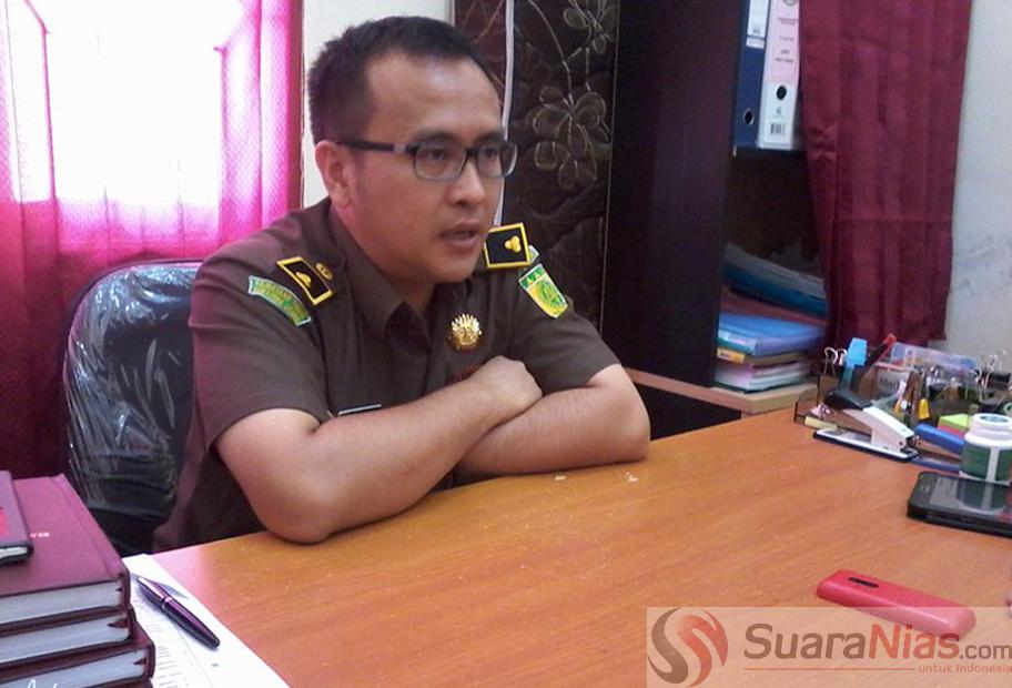 Kasipidsus Kejari Telukdalam Ardiansyah SH, MH/Foto: Edi Zebua